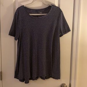 Old Navy Striped Tunic Top